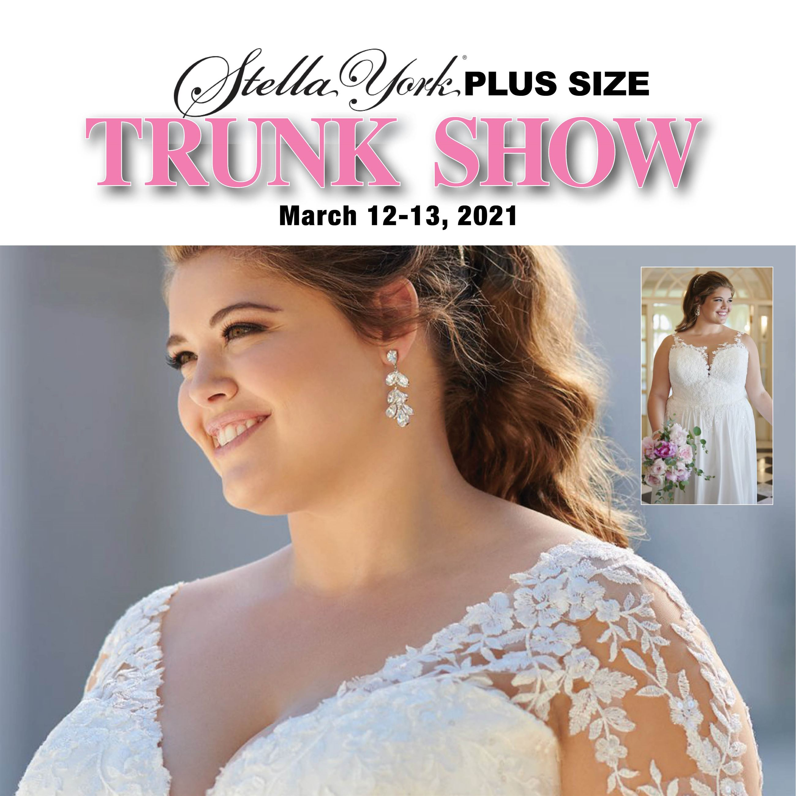Stella York PLUS SIZE TRUNK SHOW Main Image